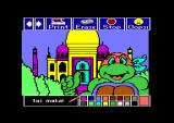 Electric Crayon Deluxe: Teenage Mutant Ninja Turtles: World Tour Commodore 64 TNMT at Taj Mahal (painted)...