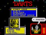 Wacky Darts ZX Spectrum Title screen