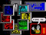Wacky Darts ZX Spectrum Select one of the wacky character to play as