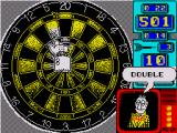 Wacky Darts ZX Spectrum The hand moves about in a drunken like state making it hard to get double top