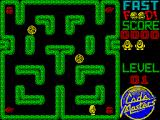 Fast Food ZX Spectrum Collect the junk food which includes burgers and pizza