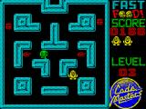 Fast Food ZX Spectrum It isn't until level 3 that you first encounter the monsters