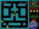 Fast Food ZX Spectrum As the game progresses you face more enemies per maze