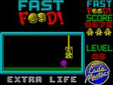 Fast Food ZX Spectrum The second animation sees Dizzy escape in a lift