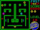 Fast Food ZX Spectrum You can walk through the thin parts of the hedge