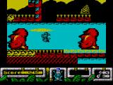 DJ Puff ZX Spectrum These Easter Island heads appear on lots of games