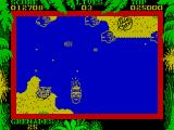 SAS Combat Simulator ZX Spectrum The river is hard to cross die to the soldiers and gunboat