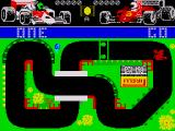 Grand Prix Simulator ZX Spectrum There is actual sampled speech during the countdown