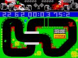 Grand Prix Simulator ZX Spectrum Collect the object for points