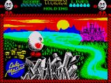 Dizzy: The Ultimate Cartoon Adventure ZX Spectrum Loading screen