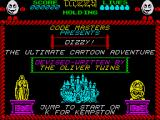 Dizzy: The Ultimate Cartoon Adventure ZX Spectrum Title screen
