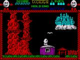 Dizzy: The Ultimate Cartoon Adventure ZX Spectrum A castle in the sky