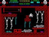 Dizzy: The Ultimate Cartoon Adventure ZX Spectrum Hells waiting room is full of corpses
