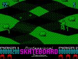 Pro Skateboard Simulator ZX Spectrum Collect all the flags to finish