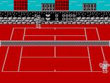 Pro Tennis Simulator ZX Spectrum Player 1 to serve