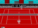 Pro Tennis Simulator ZX Spectrum If you hit the net the other player gets the point