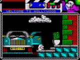 Seymour Goes to Hollywood ZX Spectrum You start the game after getting out of your limo