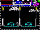 Seymour Goes to Hollywood ZX Spectrum Crossing this busy road can be very hazardous