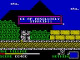 Spike in Transilvania ZX Spectrum This npc wants some food by the sound of things