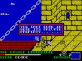 Spike in Transilvania ZX Spectrum The castle guard will not let you past