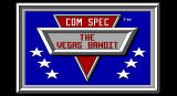 Vegas Bandit DOS title screen