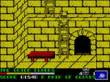 Spike in Transilvania ZX Spectrum Use the ladders to get higher up
