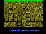 Terra Cognita ZX Spectrum The path get trickier to navigate the further you progress
