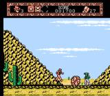 The Young Indiana Jones Chronicles NES Indy can start a boulder rolling downhill to destroy enemies.
