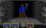 Dungeon Atari ST A zombie is about to attack