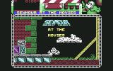 Seymour Goes to Hollywood Commodore 64 Title screen