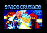Space Crusade Amstrad CPC Title Screen