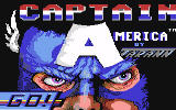Captain America in: The Doom Tube of Dr. Megalomann Commodore 64 Title Screen