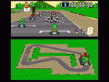 Super Mario Kart SNES Yoshi at the start