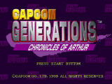 Capcom Generations PlayStation Disc 2 - Chronicles Of Arthur: Title screen