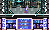 Captain America in: The Doom Tube of Dr. Megalomann Commodore 64 Enemies are attacking on both sides