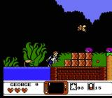 The Jetsons: Cogswell's Caper NES Land- and air-based enemies