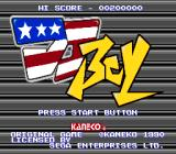 Title screen (US version)