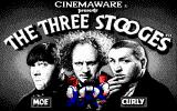 The Three Stooges DOS Title screen