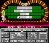 Wheel of Fortune: Family Edition NES Guessing letters.
