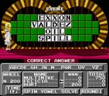 Wheel of Fortune: Family Edition NES Puzzle solved.