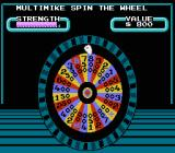 Wheel of Fortune: Family Edition NES The wheel animation