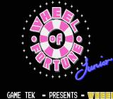 Wheel of Fortune: Junior Edition NES Title screen