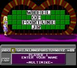 Wheel of Fortune: Junior Edition NES Name entry