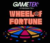 Wheel of Fortune: Featuring Vanna White NES Title screen