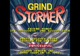 Title screen (Grind Stormer)