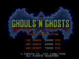 Capcom Generations PlayStation Disc 2 - Ghouls 'n Ghosts: Title screen