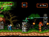 Capcom Generations PlayStation Disc 2 - Super Ghouls 'n Ghosts: If you manage to get the green armor your weapons get powered up significantly.