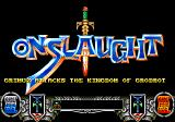 Onslaught Genesis When you enter an area you are informed to what you are about to do.