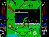 Soccer Pinball ZX Spectrum When you lose a ball it show a little pic of the goal keeper looking distraught