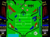 Soccer Pinball ZX Spectrum Hit the defender to remove him from obstructing the goal
